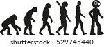 robot evolution   Shutterstock .eps vector #529745440