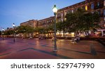 the historic waterfront area of ... | Shutterstock . vector #529747990