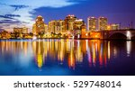west palm beach  florida... | Shutterstock . vector #529748014