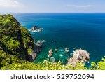 seascape and coastline in... | Shutterstock . vector #529752094