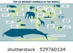 illustration of the largest... | Shutterstock .eps vector #529760134