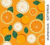 orange pattern | Shutterstock .eps vector #529769818