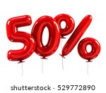 50  discount made of red... | Shutterstock . vector #529772890