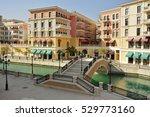 street view in venice like... | Shutterstock . vector #529773160
