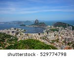 aerial view of the sugarloaf... | Shutterstock . vector #529774798