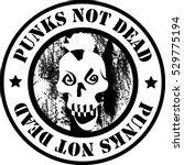 punks vector logo. | Shutterstock .eps vector #529775194