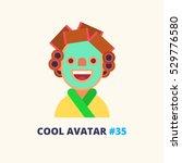 cool avatar  35. funny... | Shutterstock .eps vector #529776580