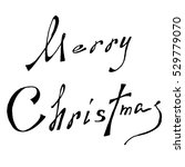 merry christmas vector text...   Shutterstock .eps vector #529779070