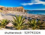 beach in a small village callao ...   Shutterstock . vector #529792324