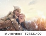 happy loving family  mother and ... | Shutterstock . vector #529821400