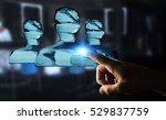 businessman on blurred... | Shutterstock . vector #529837759