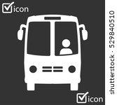 bus icon. schoolbus simbol. | Shutterstock .eps vector #529840510