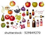 Watercolor Essential Oils And...