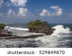bali indonesia temple tanah lot ...   Shutterstock . vector #529849870