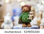 Cute Teddy Bear With Gifts On...