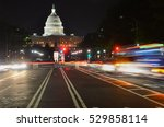 the united states capitol... | Shutterstock . vector #529858114