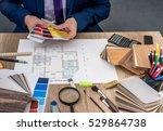 designer choice  wooden...   Shutterstock . vector #529864738