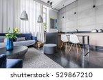 Modern Apartment With Kitchen...