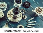 various car parts | Shutterstock . vector #529877353