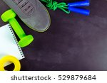 sports equipment is ready to use | Shutterstock . vector #529879684