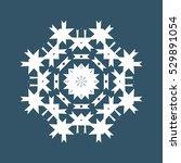 snowflake icon | Shutterstock .eps vector #529891054