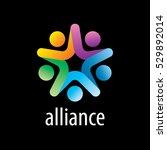 vector logo alliance | Shutterstock .eps vector #529892014