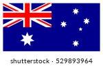 flag of australia. australian... | Shutterstock .eps vector #529893964
