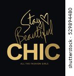 fashion slogan type series 20 | Shutterstock .eps vector #529894480