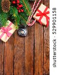 christmas background | Shutterstock . vector #529901158