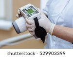 x ray device in hands of... | Shutterstock . vector #529903399