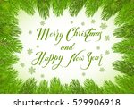 christmas theme with holiday...   Shutterstock .eps vector #529906918