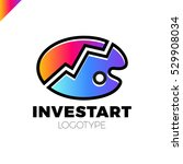 palette icon vector with invest ...