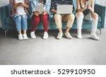 diversity young teens people... | Shutterstock . vector #529910950