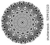 mandala. ethnic decorative... | Shutterstock .eps vector #529915123