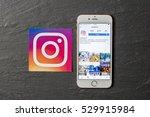 oxford  uk   december 5th 2016  ... | Shutterstock . vector #529915984