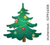 christmas tree | Shutterstock .eps vector #529916308