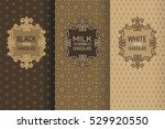 elegant set of design elements  ... | Shutterstock .eps vector #529920550