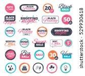 sale shopping stickers and... | Shutterstock .eps vector #529930618
