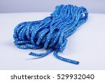 blue rope isolated | Shutterstock . vector #529932040