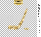 gold glitter vector icon of... | Shutterstock .eps vector #529934950