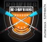 modern cross oars for rowing in
