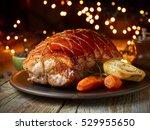 Roasted Pork And Vegetables On...