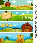 farm banners   vector | Shutterstock .eps vector #52996072