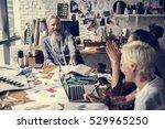 creative design dress fashion... | Shutterstock . vector #529965250