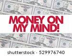50 us dollar bill background... | Shutterstock . vector #529976740