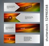 set design elements business... | Shutterstock .eps vector #529983568