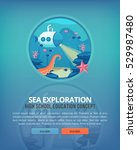 education and science concept... | Shutterstock .eps vector #529987480