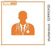doctor icon | Shutterstock .eps vector #529991920