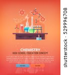 education and science concept... | Shutterstock .eps vector #529996708