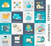 information technologies...   Shutterstock . vector #529996840